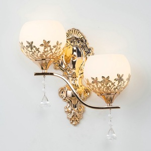 Image 5 - Modern Led Wall lamp European Style Gold wall light Bedroom Reading Lamps Corridor Stairs  Aisle Light Home Decoration Luminaire