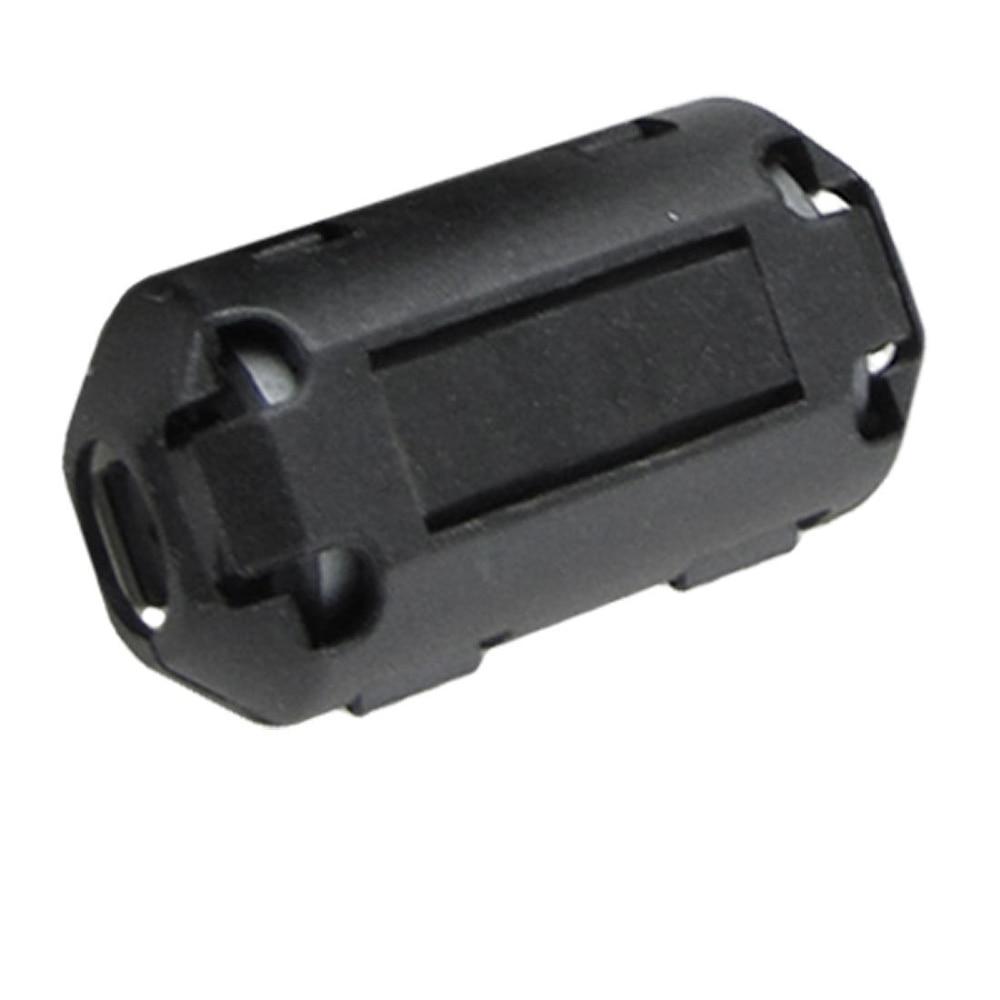 Хит 10 шт подвижные 7 мм внутренний диаметр черный ферритовый сердечник кольцо кабельный зажим