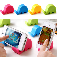2 pcs Cute elephant nose phone holder tablet Mobile Phone Accessories stands cell phones holder soporte movil telefonos moviles