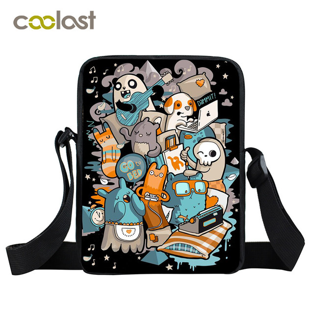 f44281f2b65f Black Cartoon Panda Bag Small Women Bags Kids Kawaii Mini Messenger Bags  Little Crossbody Bags for Girls Boys Women Satchels