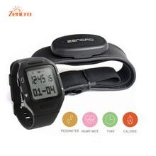 Zencro режим обучения фитнес-трекер калорий шагомер пульсомер часы браслет