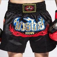 Men Women Embroidery MMA Boxing Fight Shorts Boxing Trunks Martial Arts Boxing Sanda Shorts Muay Thai Shorts Muaythai Clothes