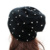 GZHilovingL Mujeres Otoño Invierno Slouch Beanie Hat Con Remache Hecho A Mano Suave de Algodón de Gran Tamaño Suelta de Punto Sombreros Para Las Mujeres de Las Señoras