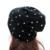 GZHilovingL Mulheres Outono Inverno Oversized Slouch Beanie Chapéu Com Rebite Artesanal de Algodão Macio Solto Malha Chapéus Para As Mulheres Das Senhoras