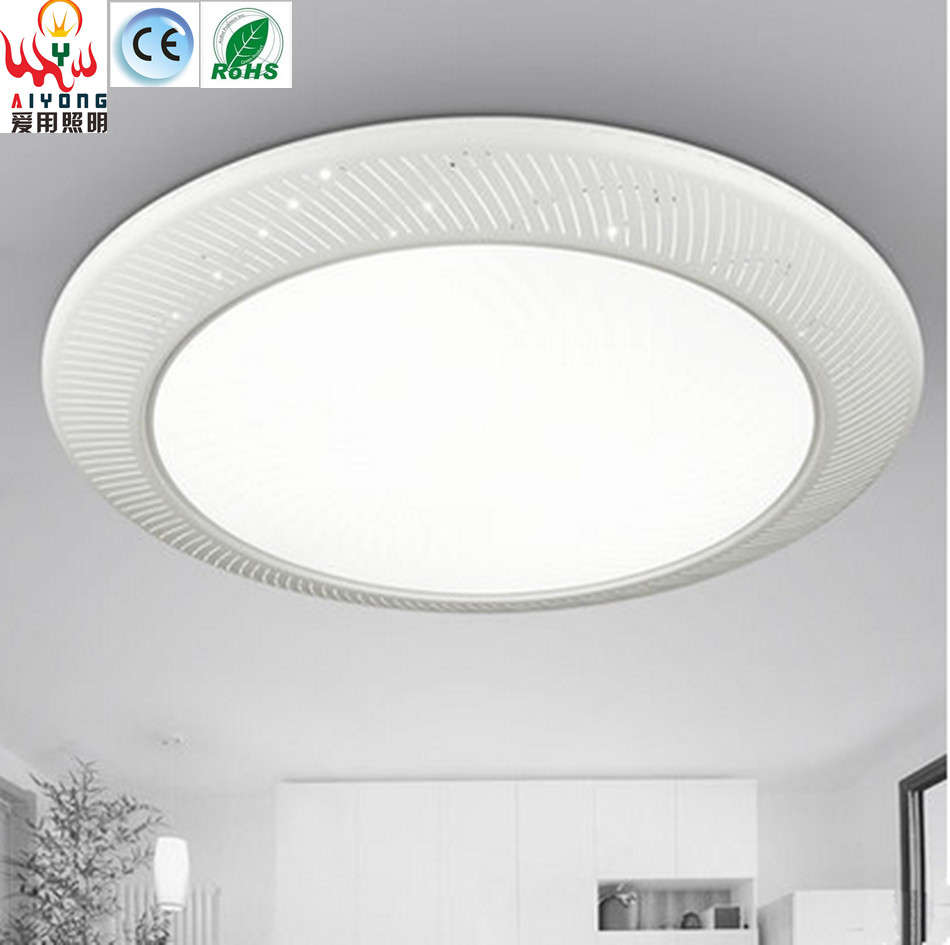 Iron led acrylic ceiling lamps circular light emitting diode iron led acrylic ceiling lamps circular light emitting diode atmospheric fashion living room lights simple bedroom lamp in ceiling lights from lights arubaitofo Choice Image