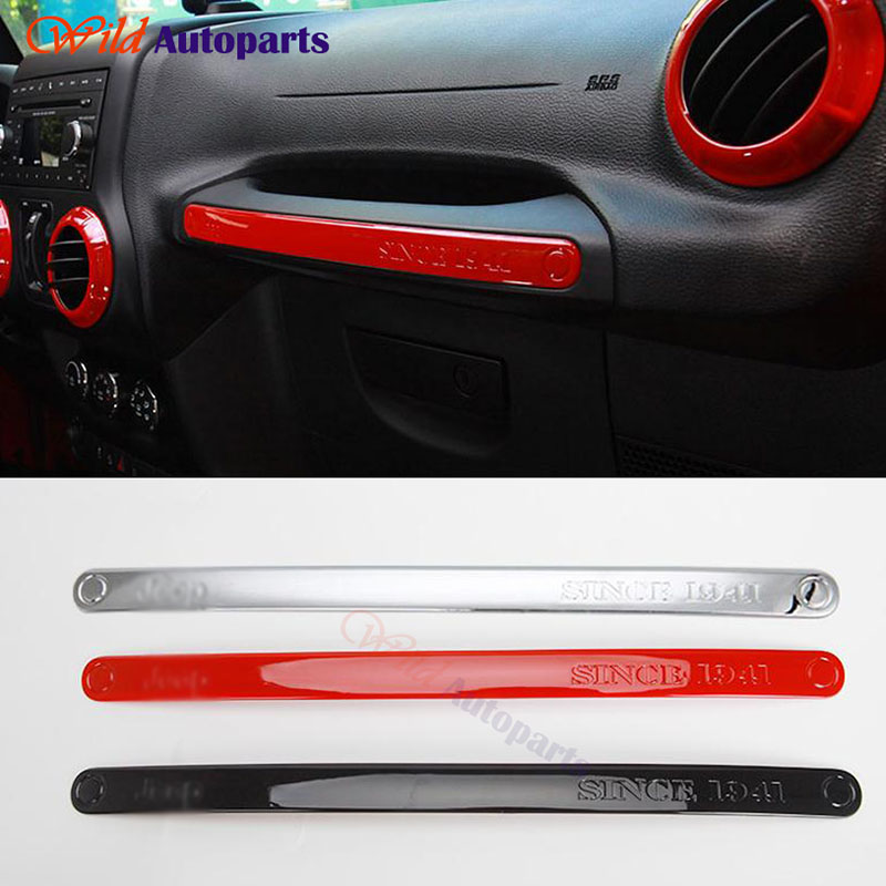 Interior Accessories Copiloto Co Driver Door Handle Trim Cover For Jeep  Wrangler JK 2011 2012 2013 2014 2015 Red / Black /Silver In Interior  Mouldings From ...