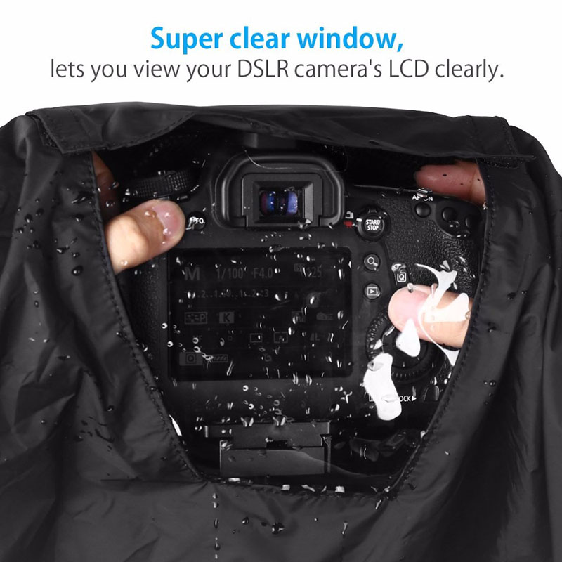 Professional Waterproof Camera Rain Cover Protector For Canon For Nikon Pentax Digital SLR Cameras Great For Rain Dirt Sand image