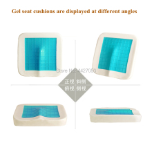 Free shipping Advanced Comfort Gel / Memory Cotton Wheelchair Cushion