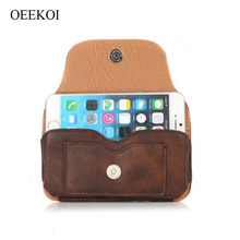 OEEKOI Rhino Pattern Belt Clip Holster Pouch Case for myPhone Hammer Bolt/Q-Smart III Plus