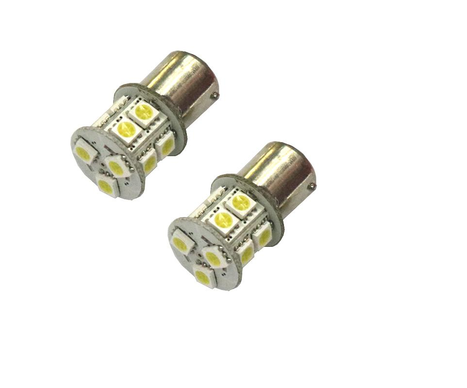 High quality 1156  12V  13 LED Single contact car  turn light/backup light/brake lamp and head 5050 SMD 2pcs high quality superb error free 5050 smd 360 degrees led backup reverse light bulbs t20 for hyundai i30