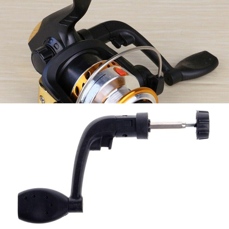 Universal Plastic Power Handle Fishing Reels Crank Rock Arm Spinning Wheel Grasp folding rocking handle crank