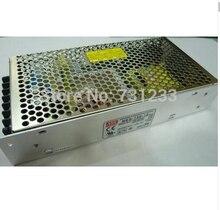 Alta calidad Mean Well fuente de alimentación conmutada 150 W 24 V 6.5A salida simple NES-150-24 para la tira llevada CNC 3D impresora