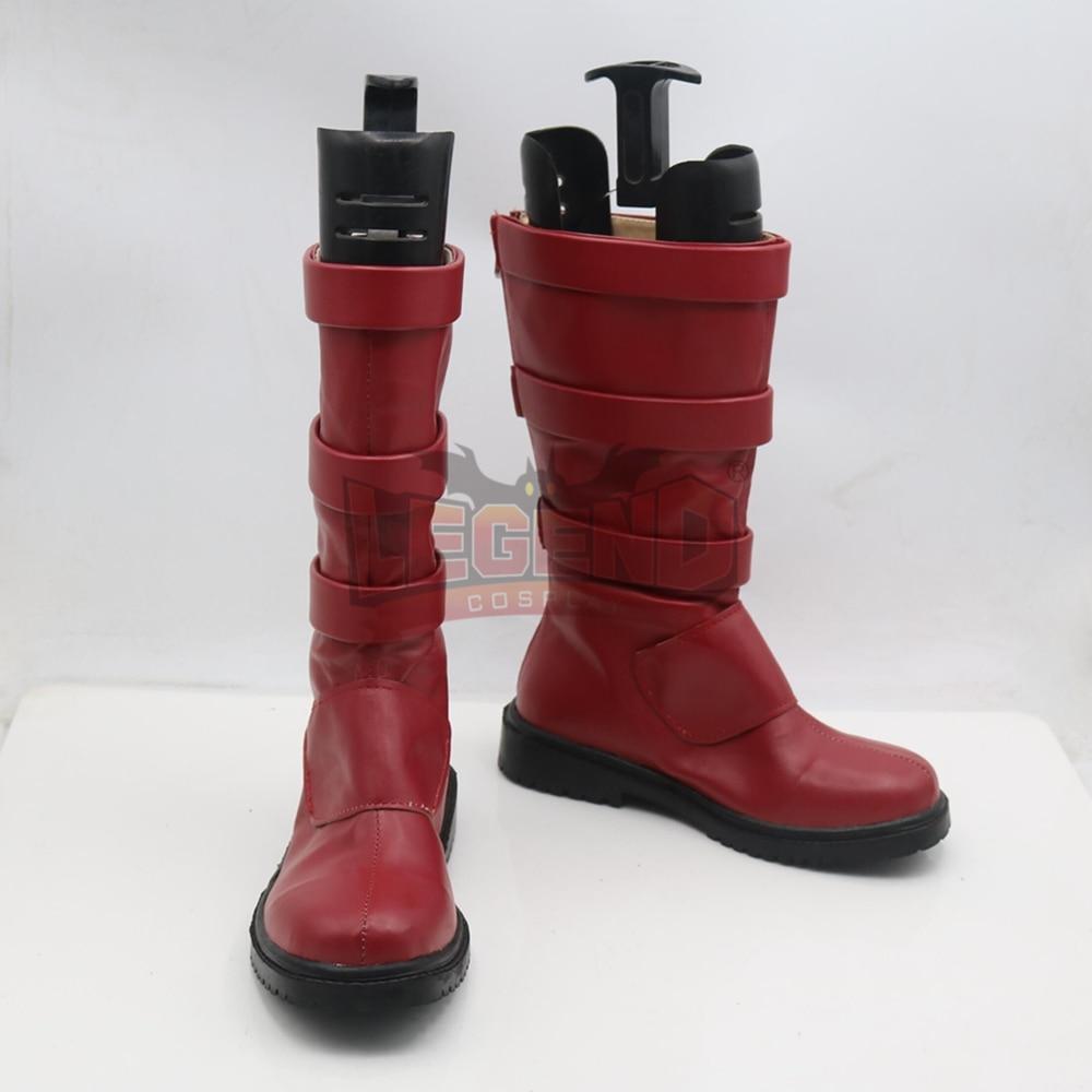 My Hero Academia Boku no Hero Akademia Kirishima Eijirou shoes male red boots cosplay shoes
