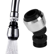 Kitchen Faucet Shower Head Economizer Filter Water Stream Faucet Pull out Bathroom Universal Plastic 360 Rotary Faucet Nozzle
