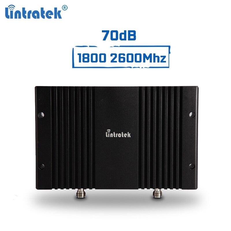 Lintratek signal booster GSM 2G 4G 1800 2600 Mhz B3 B7 répéteur 4G LTE 70dB mobile signal amplificateur DCS LTE Puissant à Gain Élevé #9