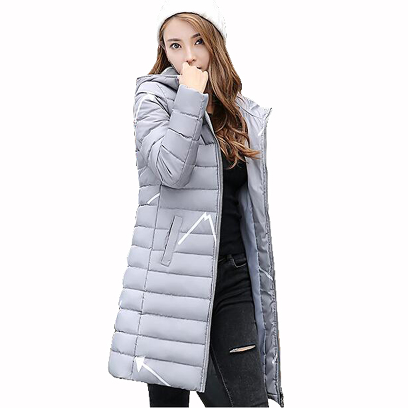 high quality winter women Long coat womens jacket printing was thin down cotton padded thick coat windbreaker plus size QH0523 long coat womens jacket new printing was thin down cotton padded thick coat windbreaker