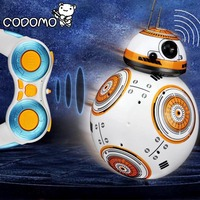 BB 8 Star Wars 7 RC BB 8 Droid Robot 2.4G Remote Control Captain America BB8 Iron Man Action Figure Robot Intelligent Ball Toys