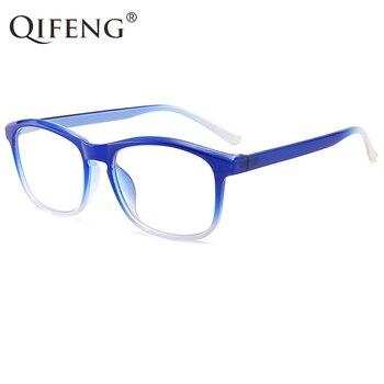 09379be9bd Gafas de lectura QIFENG para mujer, gafas presbiópicas, gafas de grado  femenino + 1,0 + 1,5 + 2,0 + 2,5 + + 3,0 + 3,5 QF272