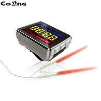 650 нм маленький размер портативный лазерный prify крови наручные часы низкого уровня лазерной терапии устройства