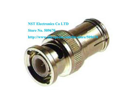 Free Shipping /100pcs/  BNC Male to PAL Female  BNC male plug to IEC DVB-T-TV PAL female jack adapter Connector New