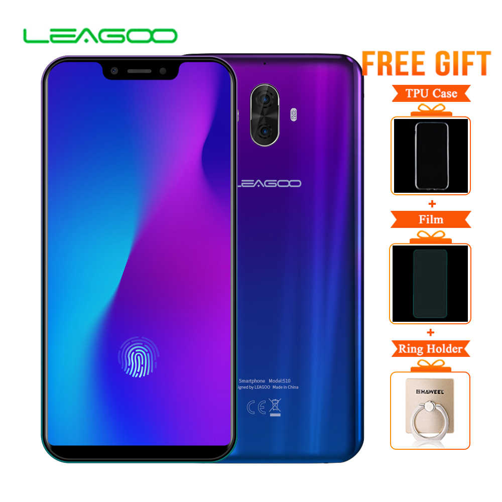 5336e79e5fb Detail Feedback Questions about LTE 4G LEAGOO S10 6.21   Android 8.1 Mobile  Phone RAM 6GB ROM 128GB Octa Core 20MP 13MP Screen Fingerprint Dual SIM ...