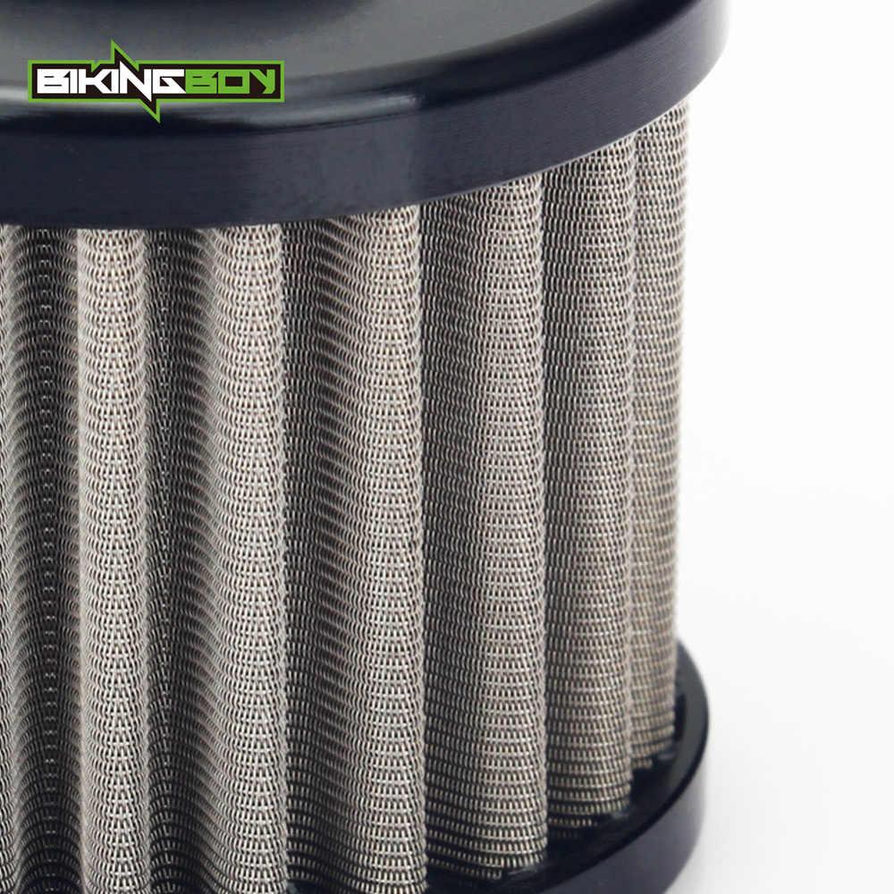 BIKINGBOY для Honda CRF 150 R RB 07-17 CRF 250 R X 04-17 CRF 450 R 2002-2017 CRF 250 450 РЛ многоразовая нержавеющая сталь фильтр для масла