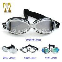 Motorrad radfahren anti-fog motorrad goggle Motorrad Roller Steampunk Kreuzer-sturzhelm Schutzbrille Eyewear sonnenbrille