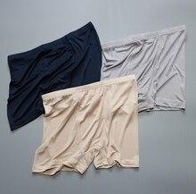 1 предмет 50% шелк 50% вискозного трикотажа Для мужчин нижнее белье боксер Размеры L XL 2XL 3XL SG103
