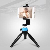 KISSCASE Portátil Tripé Stand Titular Para Samsung S8 Mais Telefone 360 Graus de Rotação Mini Tripés Para iPhone Suporte Da Câmera Gopro