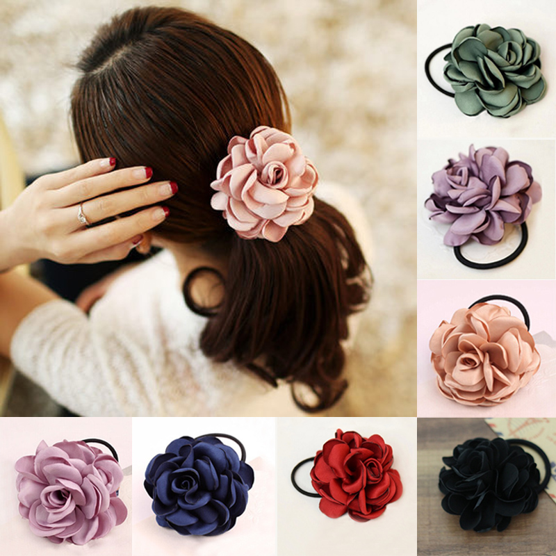 Sale 1Pc Women Girls Fashion Cute colorful flower Fabric