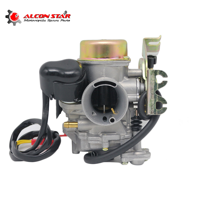 Alconstar- CVK30 Carburetor with heater for Aeolus VOG ATV UTV TANK 260 YP250 XY260T Linhai 260 Scooter for Honda for Yamaha motorcycle cylinder kit 250cc engine for yamaha majesty yp250 yp 250 170mm vog 257 260 eco power aeolus gsmoon xy260t atv page 2