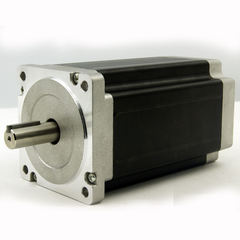4Axis NEMA34 stepper motor 12N.m(1715oz in) shaft diameter 12.7/14mm 6.0A and Driver JB860M AC18 80V/DC24 110V 2.0 6.0A 256Micro-in Stepper Motor from Home Improvement    2