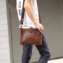 Tidog Korean male package bag retro trend men single shoulder bag(China)