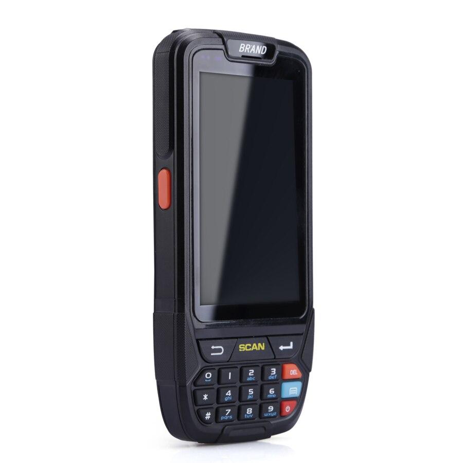2D Scanner di Codici A Barre Lettore di Android 7.0 Palmare Terminale RFID PDA con 16g ROM e 2g di RAM
