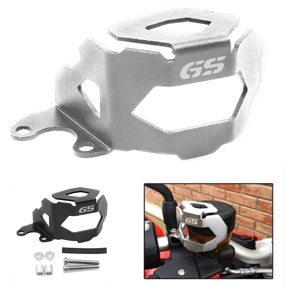 Motorcycle Brake Fluid Reservoir Guard Protective Cover For BMW F800GS 13-18 F700GS 13-18 Does NOT fit F800GS Adventure model