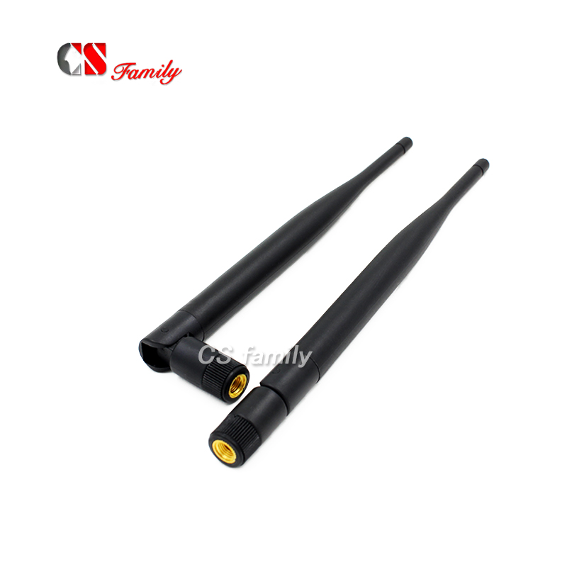 1pcs 6dBi RP-SMA Dual Band WiFi Antennas For Mod Kit Asus D-Link Router