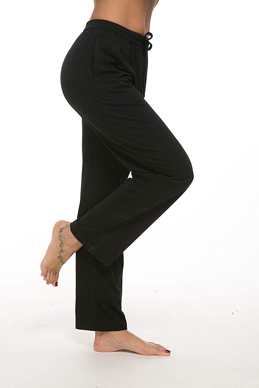 Pantalon longueur Cheville Salon Lâche Jambe Large Pièces Confortable Yoga Taille Haute Femmes Stretch Cordon 10 De Décontracté trdBCshQx