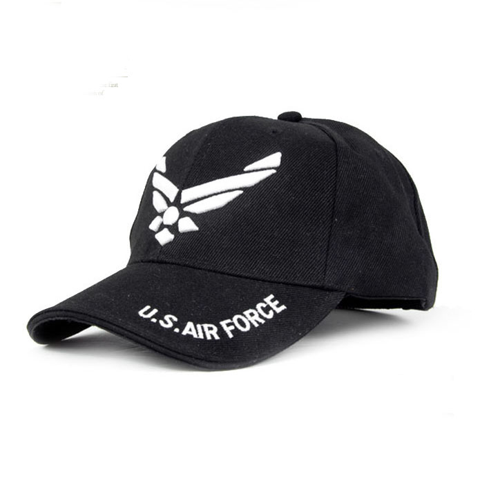 3977a1aedda Outdoor US Air Force hats Casual Tactical Baseball Cap Cycling Beisebol Cap  Army Sport Men Mountaineer embroidery Shade Caps-in Baseball Caps from  Apparel ...