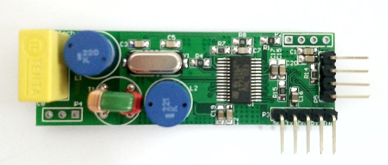 Power Line Carrier Module Communication Module St7540 Development Board DC/Power Off/Three Phase Available TTL
