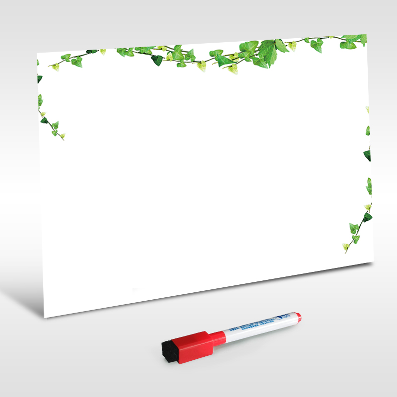 YIBAI A4 Dry Erase Magnetic Whiteboard Mini Office Notice Memo
