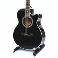 40 Inch Folk Guitar Acoustic Guitar Exquisite Workmanship Gorgeous Appearance Suitable For All Beginners Learning