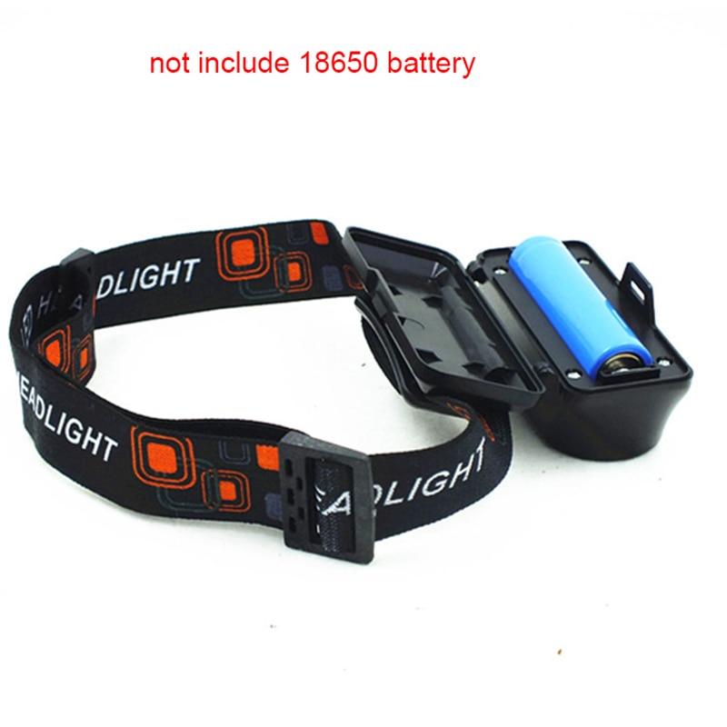 USB Aufladbare Scheinwerfer Q5 + COB Scheinwerfer Tragbare 6 Modi Nachtlicht Camping Outdoor 18650 Batterie LED Taschenlampe Taschenlampe