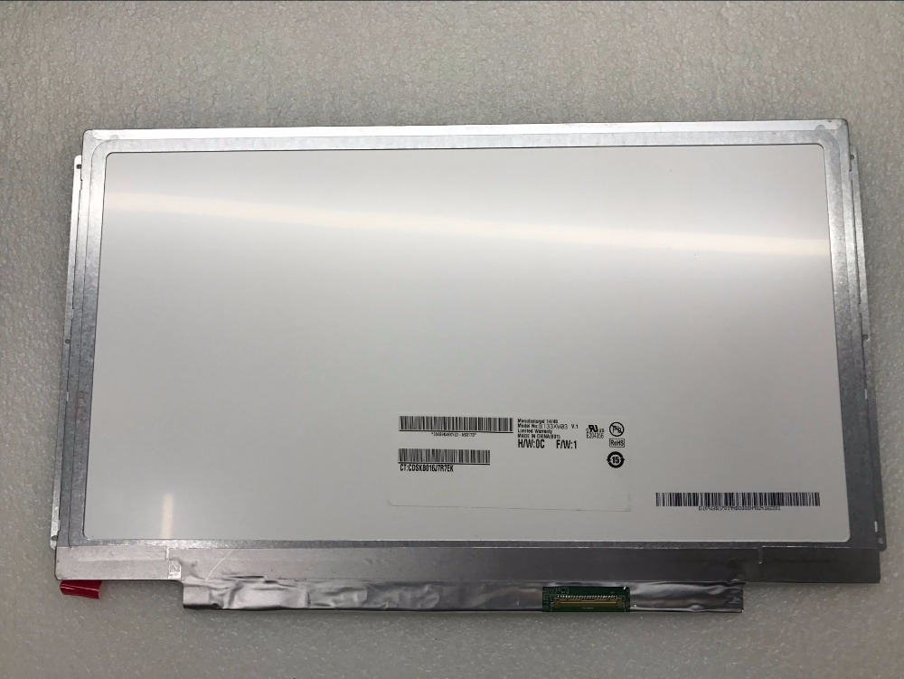 все цены на Laptop LCD LED Display Screen For Dell Vostro V13 V130 3300 3350 B133XW01 v.0 V.1 v.2 v.4 13.3 40Pin LVDS 0XX31G 1366x768 онлайн