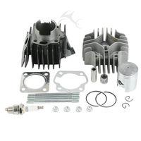 New Cylinder Head Piston Gasket Top End Kit For Suzuki JR50 1978 2006