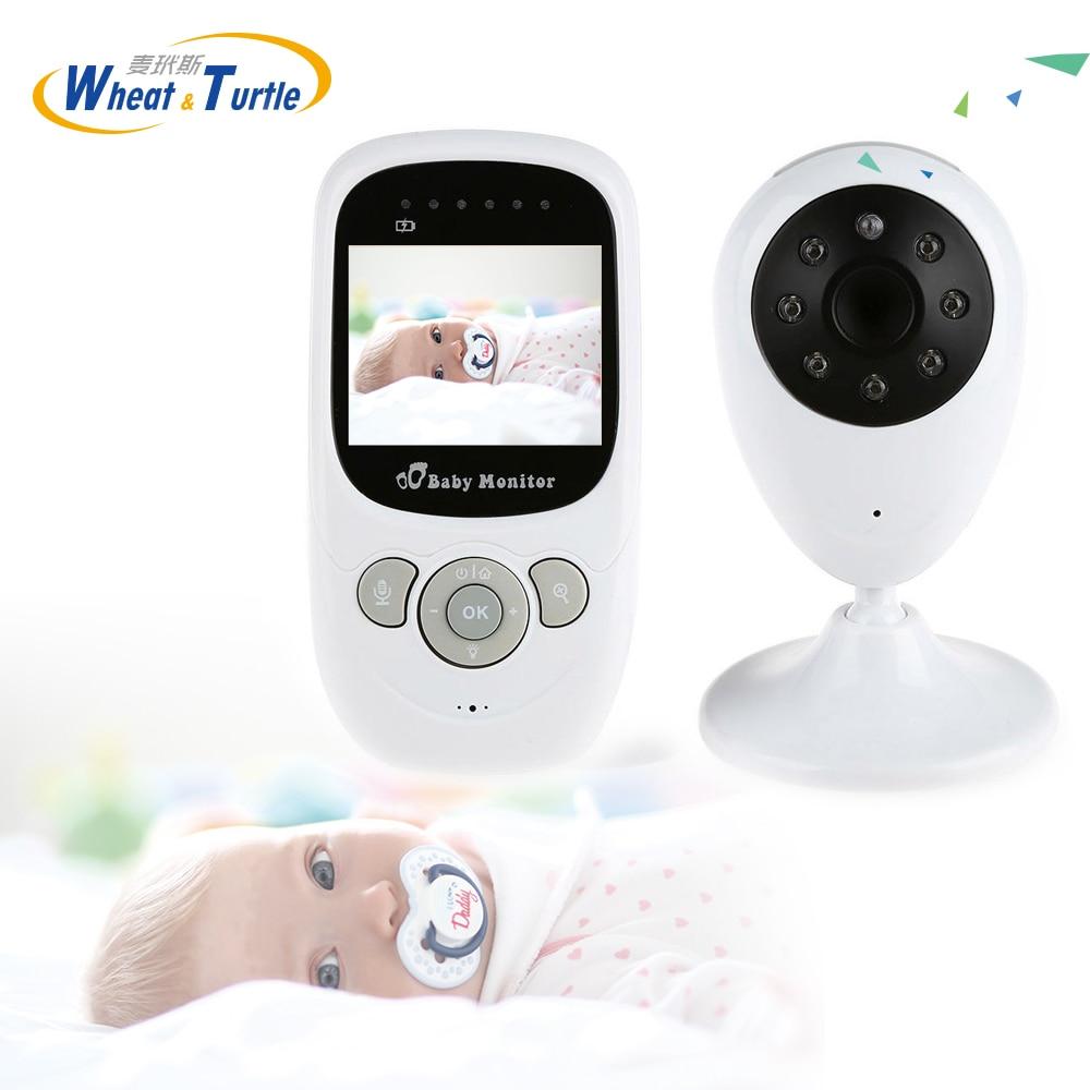 Мамы и детей безопасность ребенка спать montiors младенческой 2.4 ГГц Беспроводной няня цифровой Видеоняни и радионяни Ночное видение Дисплей н... ...