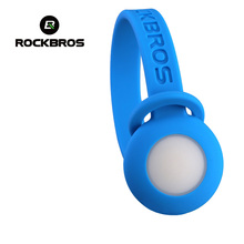 ROCKBROS Cycling Bike MTB Road Bicycle LED Flash Light Running Motion Warning Light Pants Clip Belt IF Design Award RK0010