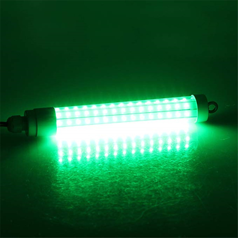 12V 120LED 1000Lumens Lure Bait 10W Night Fishing Finder Lamp Light shads fishing LED boat fishing Deep Drop Underwater Light 4