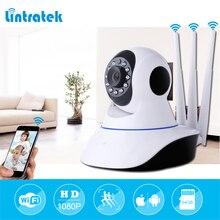 мини камера видеонаблюдения Wi-Fi HD 1080P дома камеры видеонаблюдения ip камера датчик движения видеокамера беспроводной безопасности Камера три антенны дистанционное управление ip-камера Lintratek