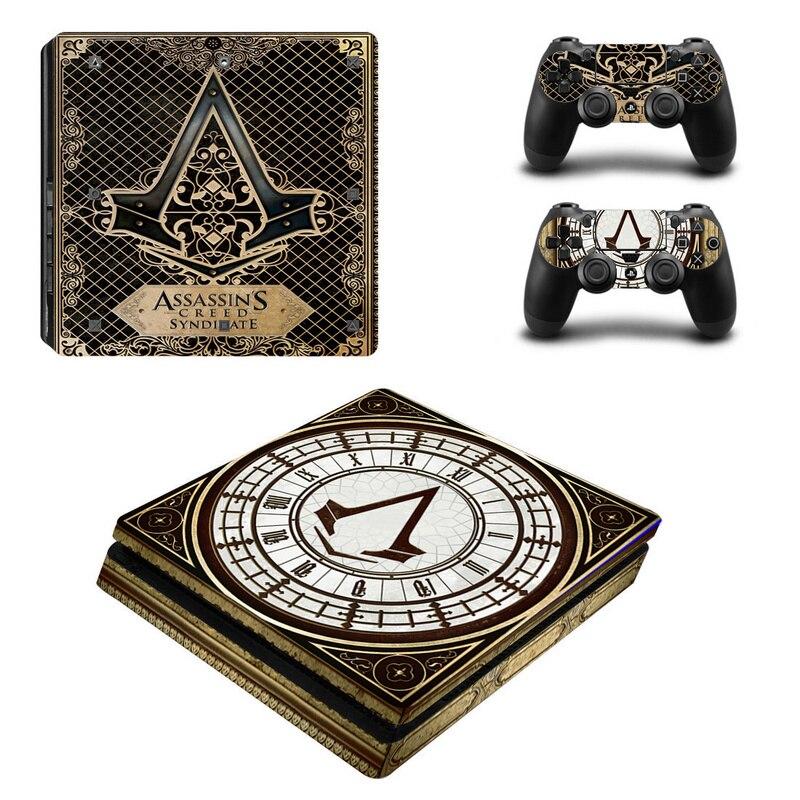 Assassins Creed Klassische Vinyl Aufkleber Haut Für PS4 Slim Konsole ...