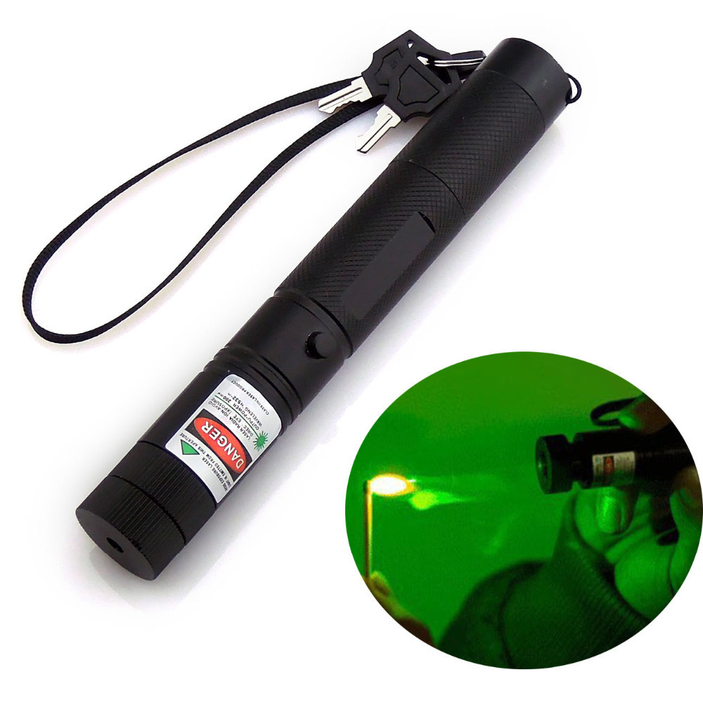 Hunting Optics Lasers Learned 303 Green Laser Pointer Burning Beam Adjustable Focus Laser Light With Swith Sky Star Cap With Battery And Charger Products Hot Sale